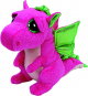 Ty 541000009F. Darla Dragon Pink Soft Toy 23cm