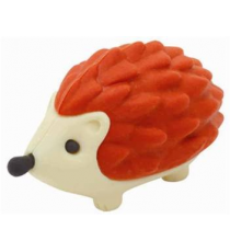 Beanie Puzzle 39062. Eraser. Red Prickles Hedgehog.