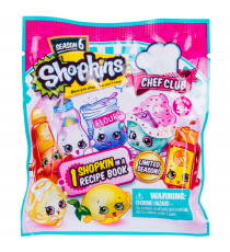 Shopkins 56508. 1 envelope with figure. Series 6