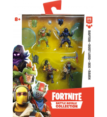 Fortnite 35639. Pack of 4 figures. Random model