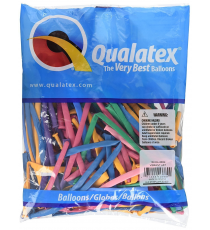 Qualatex 13769. Bolsa de 100 unds. Colores vibrantes.