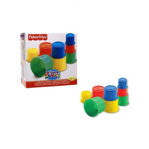 Fisher-Price 75601. Construction and sand buckets