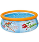 INTEX 56207. Swimming pool. Set with design of Plans the movie.