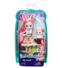 Enchantimals DVH88. Poupée Brie Bunny