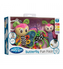Playgro 1201219. Snap-on set, Butterfly design