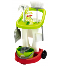 Ecoiffier 470-2613. Cleaning trolley