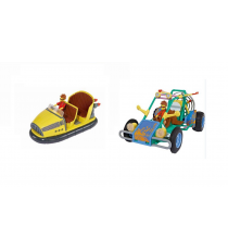 Matt Hatter - Pack of 2 vehicles: Dune Buggy and Hover Cab