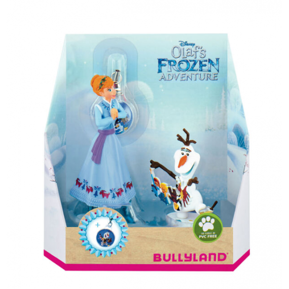 Bullyland 12938. Pack of 2 figures. Frozen: Anna & Olaf.