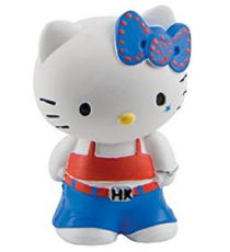 Bullyland Y53452. Figure. Hello Kitty with blue jeans.