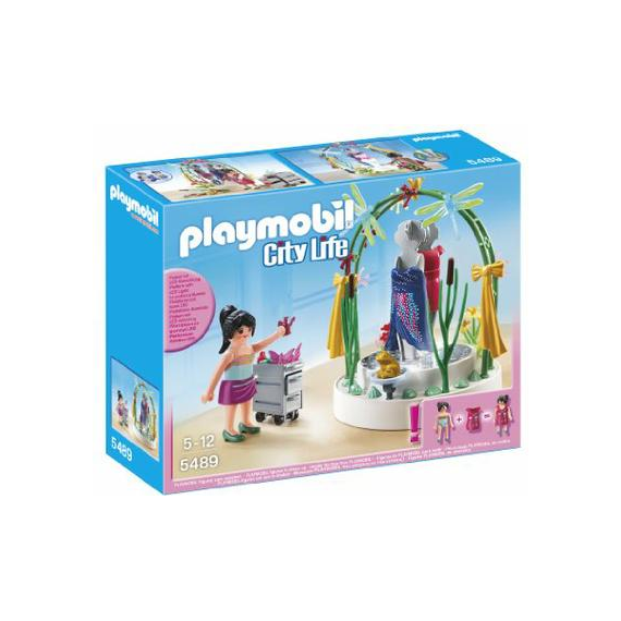 Playmobil City Life 5489. Escaparate con luces LED.