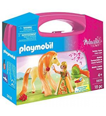 Playmobil 5656. Briefcase. Princess with horse.