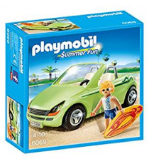 Playmobil 6069. Surfista con coche descapotable.