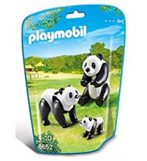Playmobil 6652. Pandas Bear Family.