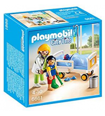 Playmobil 6661. Doctor with child.