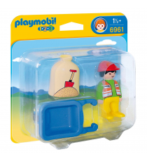 Playmobil 6961. Operaio con carriola.