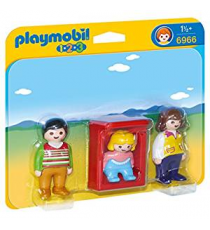 Playmobil 1.2.3 6966. Parents avec bébé.