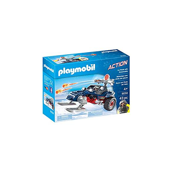Playmobil 9058. Car Racer dei pirati.