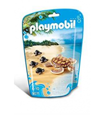 Playmobil 9071. Water turtle with young.
