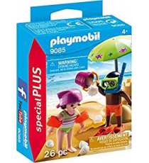 Playmobil 9085. Children on the beach.