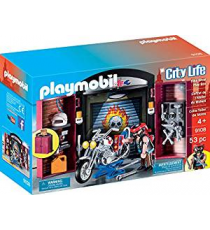 Playmobil 9108. Motorcycle workshop.