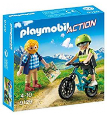 Playmobil 9129. Action walker and mountain biker