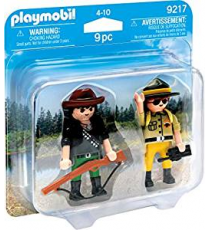 Playmobil 9217. Save forests and hunter.