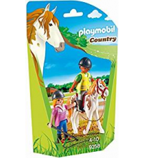 Playmobil 9258. Instructor de montar a caballo