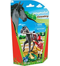 Playmobil 9261. Horseman and horse