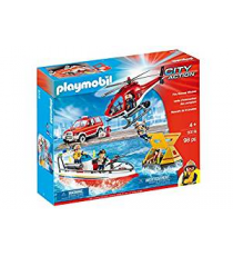 Playmobil 9319. Set de rescate de incendios.