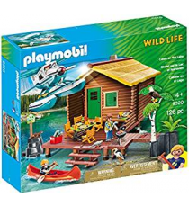 Playmobil 9320. Cabin on the Lake.