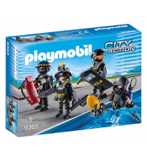 Playmobil City Action 9365. Squadra speciale d'intervento.