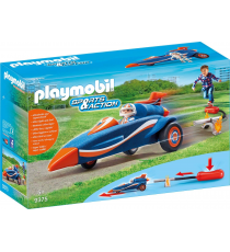 Playmobil Sports & Action 9375. Piloto y coche.