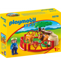 Playmobil 1.2.3 9378. Residence of lions