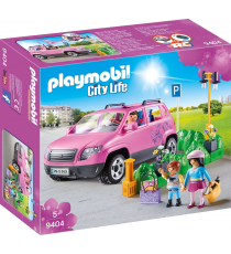 Playmobil 9404. Family car with parking.