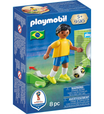 Playmobil 9510. Soccer player of Brazil.