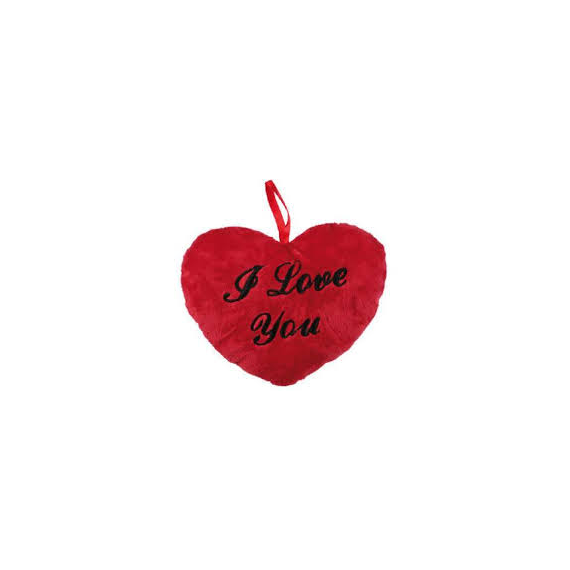 Corazon rojo I love you 28 cm