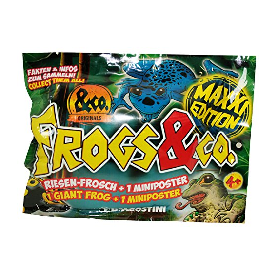 Frogs & Co. Maxxi Edition. Sobre individual.