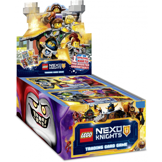 LEGO NEXO Knights. Trading Cards. 1 display.