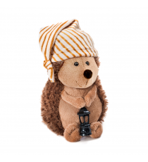 Orange Life Collection OS078 / 20. Soft toy Hedgehog with sleeping cap and lamp 20cm.