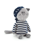 Jouets orange OS081 / 30. Buddy, le chat pirate 30cm.