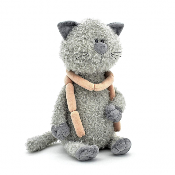 Orange Toys OS069/30. Buddy, the cat with sausages 30cm.