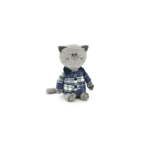 Orange Life Collection OS084 / 30. Soft toy 25cm. Buddy, the cat with the jacket