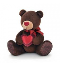 Orange Life Collection C003 / 15. Choco 15cm peluche. Ours avec un coeur