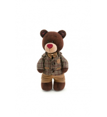 Orange Life Collection C5047 / 25. Peluche Choco 25cm. Ours avec une veste.