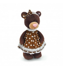 Orange Life Collection M5052/30. Peluche Choco 30cm. Osa sentada con vestido.