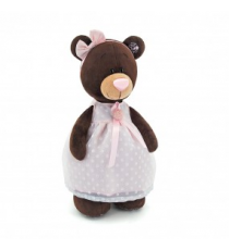 Orange Life Collection M5046/30. Peluche Choco 30cm. Osa sentada con vestido.
