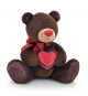 Orange Life Collection C003/20. Choco soft toy 20cm. Bear with a heart