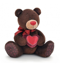 Orange Life Collection C003 / 20. Peluche Choco 20cm. Ours avec un coeur