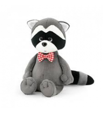 Orange Life Collection OS614 / 20. Soft toy Denny, the raccoon with a bow tie.