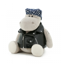 Orange Toys MS6102/20. Po, the biker hippopotamus 20cm.